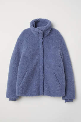 H&M Pile Jacket - Blue