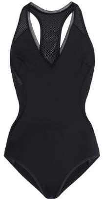 Stella McCartney Mesh-trimmed Neoprene Swimsuit