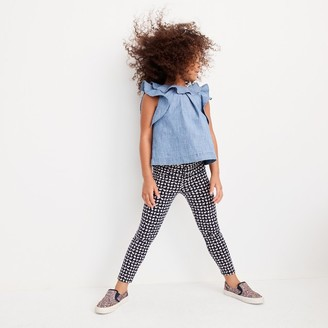 Girls' everyday cropped leggings in mini elephant print $26.50 thestylecure.com