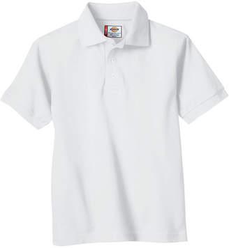 Dickies Boys Short Sleeve Pique Polo