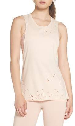 Alo Distressed Tank Top