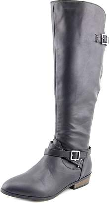 Material Girl Capri Women US 8.5 Brown Knee High Boot