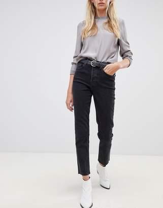 Tomorrow Denim Tomorrow highwaisted straight leg jean with organic cotton