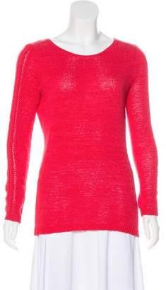 Rachel Zoe Long Sleeve Open-Knit Sweater
