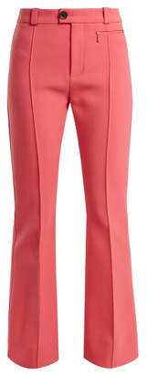 Kwaidan Editions - Zermatt High Rise Kick Flare Trousers - Womens - Pink