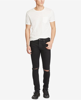 Denim & Supply Ralph Lauren Men's Graham Ripped Skinny Jeans $125 thestylecure.com