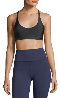 Under Armour Scoop-Neck Strappy Back Performance Sports Bra