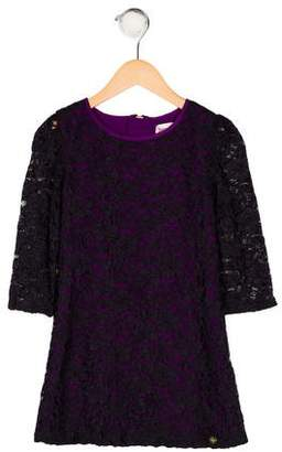 Juicy Couture Girls' Lace Shift Dress
