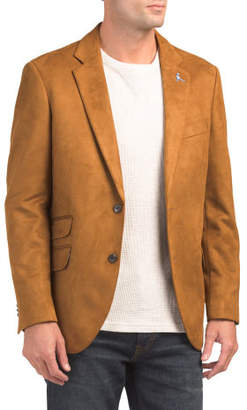 Micro Suede Sportcoat