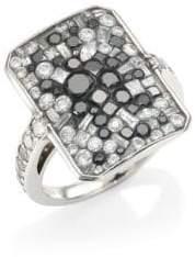 Black Diamond Pleve Black Galaxy White& Ring