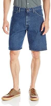 Wrangler Men's Big-Tall Authentics Classic Five-Pocket Jean Short, Stonewash Dark, 48
