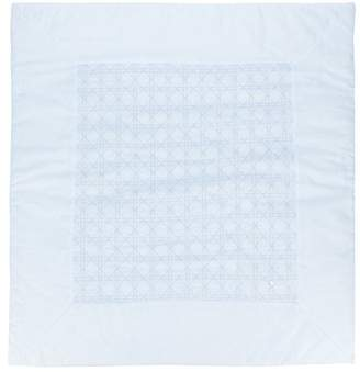 Christian Dior stitched blanket