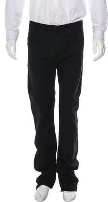 Christian Dior Linen-Blend Five-Pocket Slim-Fit Jeans