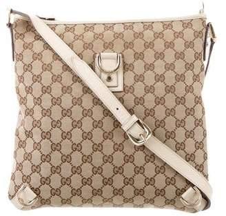 Gucci GG Canvas Abbey Messenger Bag