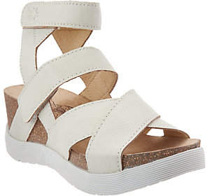 Fly London Leather Strappy Sandals - Wege