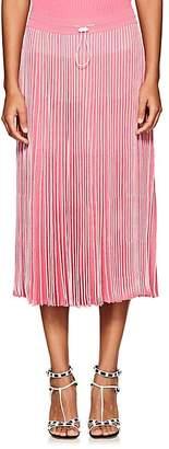 Valentino Women's Striped Knit Midi-Skirt