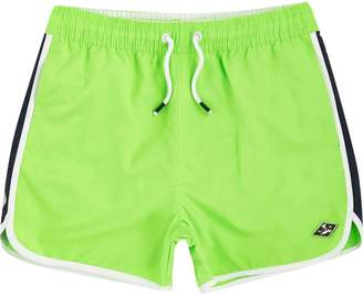 River Island Boys bright green runner swim shorts