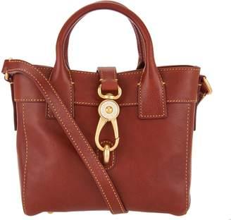 Dooney & Bourke Florentine Leather Small Tote Handbag- Amelia