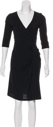 Just Cavalli Long Sleeve Knee-Length Dress