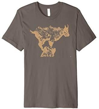 Mountain goat T shirt
