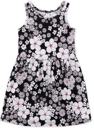 Carter's Little & Big Girls Floral-Print Cotton Tank Dress
