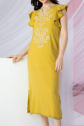 0bdc2e61cf THML Clothing Sunny Embroidered Dress
