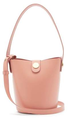 Sophie Hulme Nano Swing Leather Bucket Bag - Womens - Light Pink