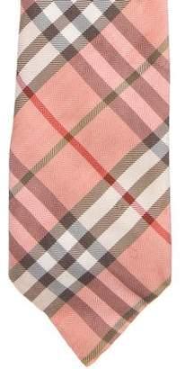 Burberry Silk Check Tie