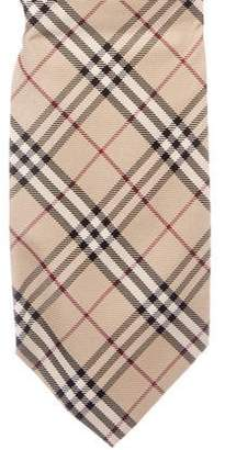 Burberry Nova Check Silk Tie