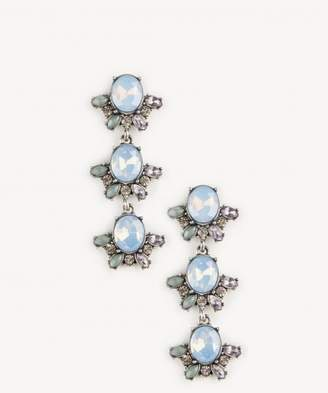 Sole Society Enchantment Crystal Statement Earrings
