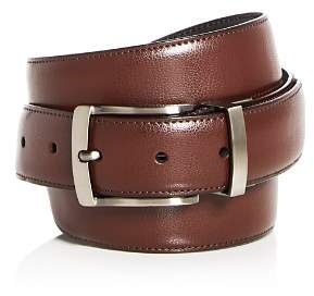 Bloomingdale's The Men's Store at Reversible Burnished Edge Buckle Leather Belt - 100% Exclusive