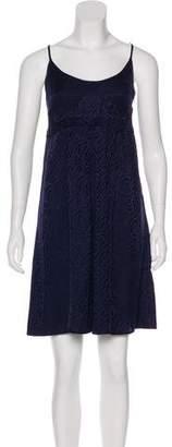 Balenciaga Silk Brocade Dress