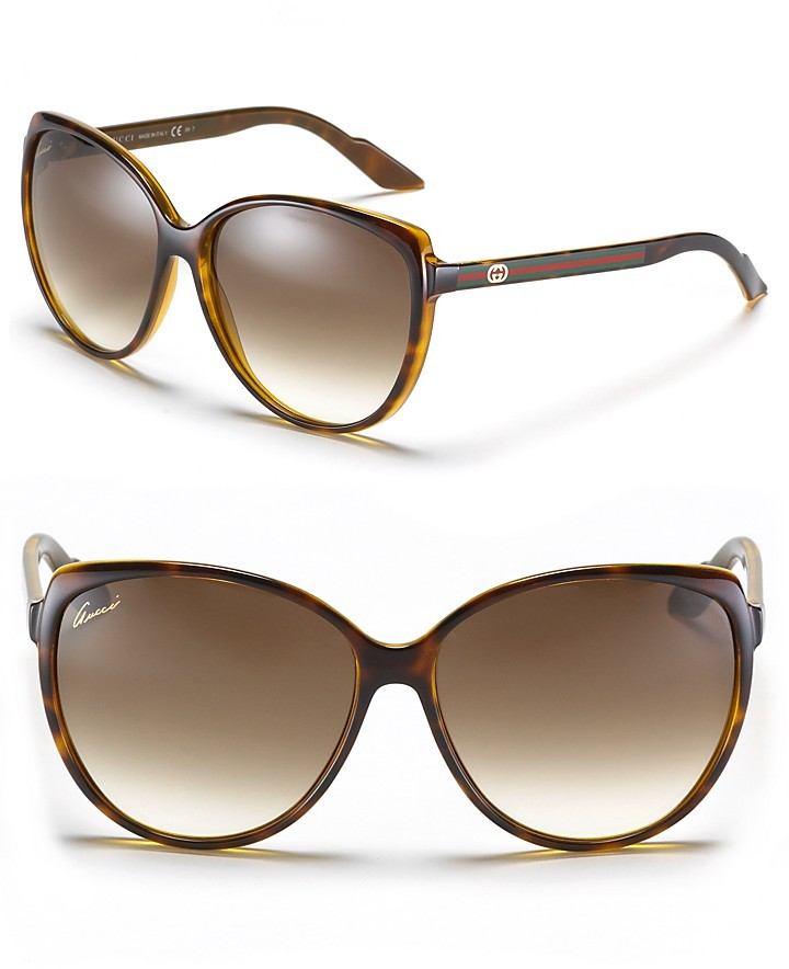 Gucci Sunglasses with Web Temples