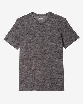 Express Solid Performance Crew Neck Tee