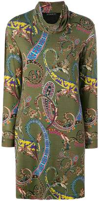 Etro fitted printed dress