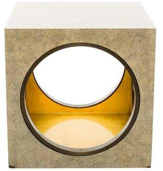 The Lacquer Company Cube Side Table