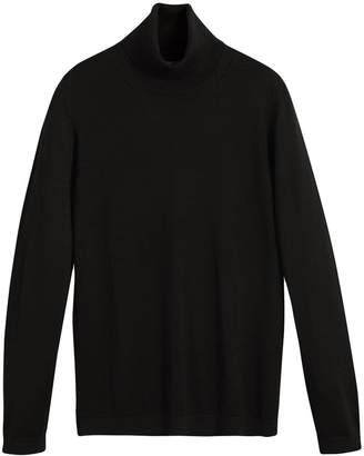 Burberry Silk Cashmere Roll-neck Sweater