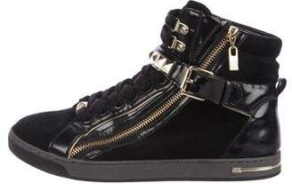 MICHAEL Michael Kors Suede High-Top Sneakers