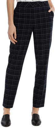 Basque Midnight Check Suit Pant