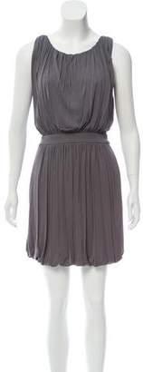 Fendi Sleeveless Draped Dress