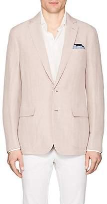Ralph Lauren Purple Label Men's Hadley Slub Linen-Silk Two-Button Sportcoat - Rose