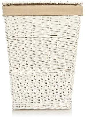 Laundry by Shelli Segal George Home White Laundry Hamper