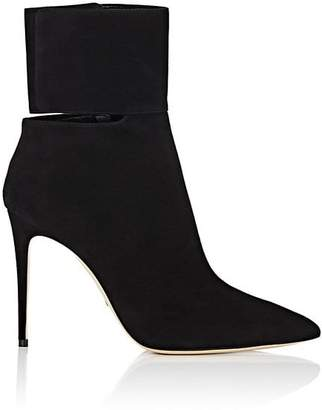 Paul Andrew WOMEN'S MATTEOTTI SUEDE ANKLE-STRAP BOOTS
