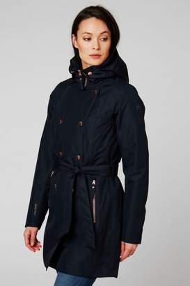 Helly Hansen Womens Welsey Trench Coat - Blue