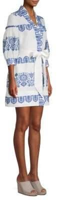 Milly Agnes Linen Dress