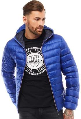 883 Police Mens Downer Puffer Jacket Electric Blue 1bd33f6c59a7