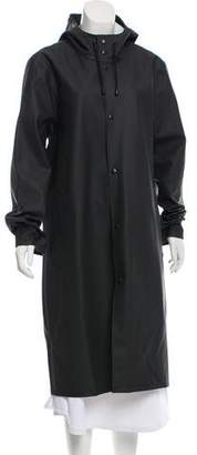 Stutterheim Long Hooded Raincoat