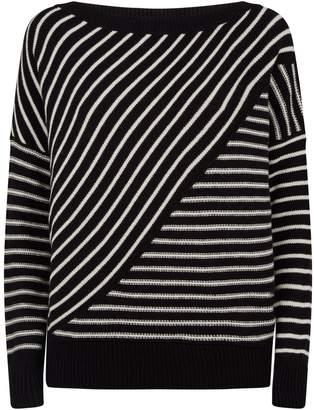 AllSaints Vani Stripe Sweater
