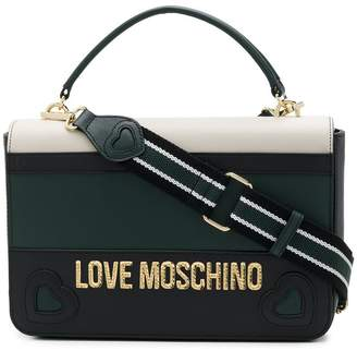 Love Moschino colour-block tote bag