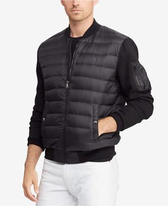 Polo Ralph Lauren Men's Hybrid Down Bomber Jacket